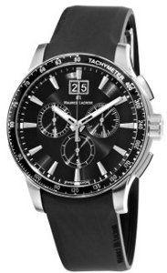 626c7d2de49 Relógio Maurice Lacroix Preto. O primeiro modelo de relógio ...
